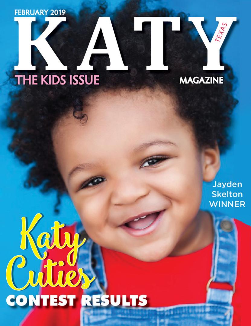 Katy Magazine FEB 2019 KIDS COVER ISSUE
