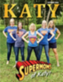 Katy Magazine October Supermoms of Katy