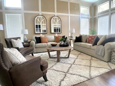 Comfy cozy Katy Living Room