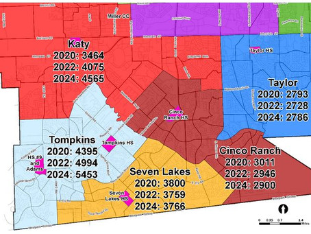 Katy ISD High Schools Face Major Rezoning for 2020