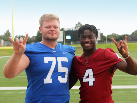 Conner and Milroe, Top Katy Football Players to Watch This Season