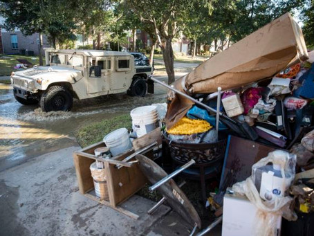 Fort Bend County Now Allowing Bagged Debris: Just Announced