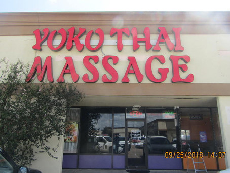 Two Arrested at Katy Massage Parlor on Mason Road