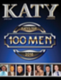 Katy Magazine June 2018: Top 100 Men of the Year