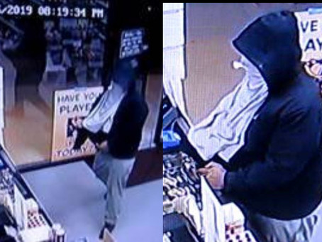 $5000 Reward Offered for Information Leading to Arrest of Armed Liquor Store Robber