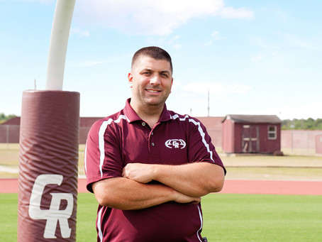 Christopher Dudley Takes the Reins as Cinco Ranch's New Head Coach
