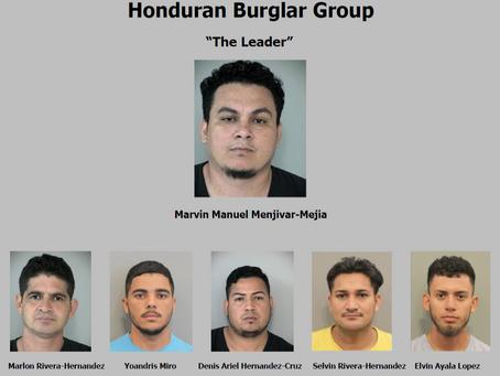 Honduran Burglary Ring Arrested in Katy