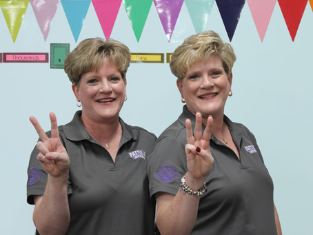 Twin Teachers at Pattison Elementary Have Students Seeing Double