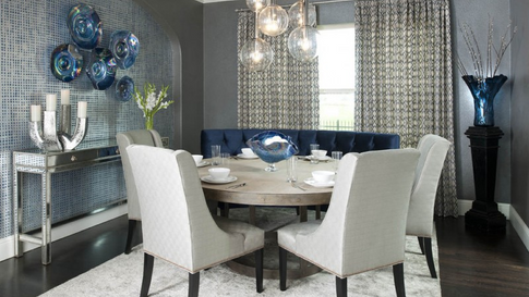 High end dining room