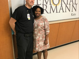 Katy Woman Thanks ER Doctor Who Helped Save Her Life