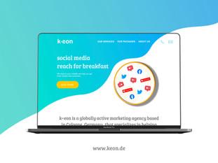 keon Webseite