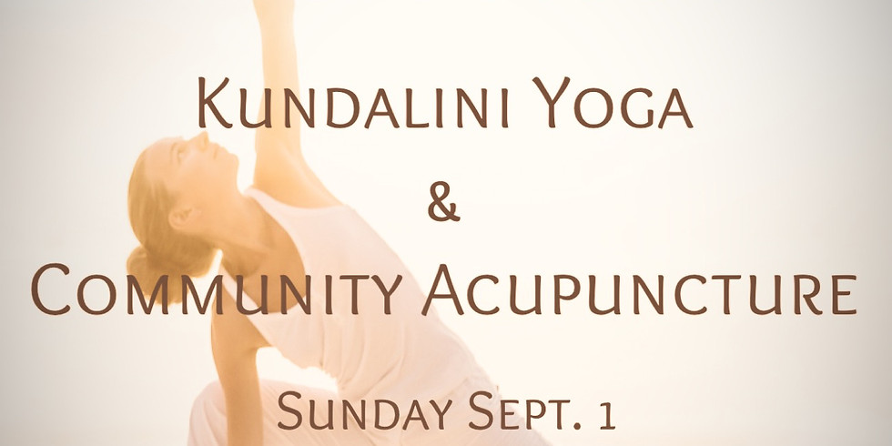 Kundalini Yoga and Community Acupuncture by the sea