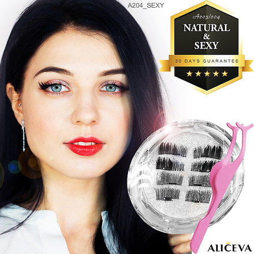 Aliceva Magnetic Eyelash - A203
