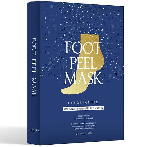 2 Pairs of Foot Peel Mask, Exfoliating Foot Peel Mask for Soft Feet in 1-2 Weeks