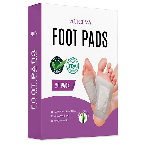 Aliceva Natural and Organic Ingredients Foot Patch