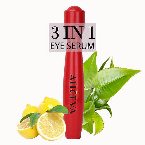 Aliceva Eye Serum & Eye Roller for Dark Circles and Puffiness