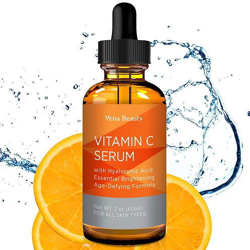 Vitamin C Facial Serum Anti-Aging Moisturizer Serum for Face and Eye by Aliceva