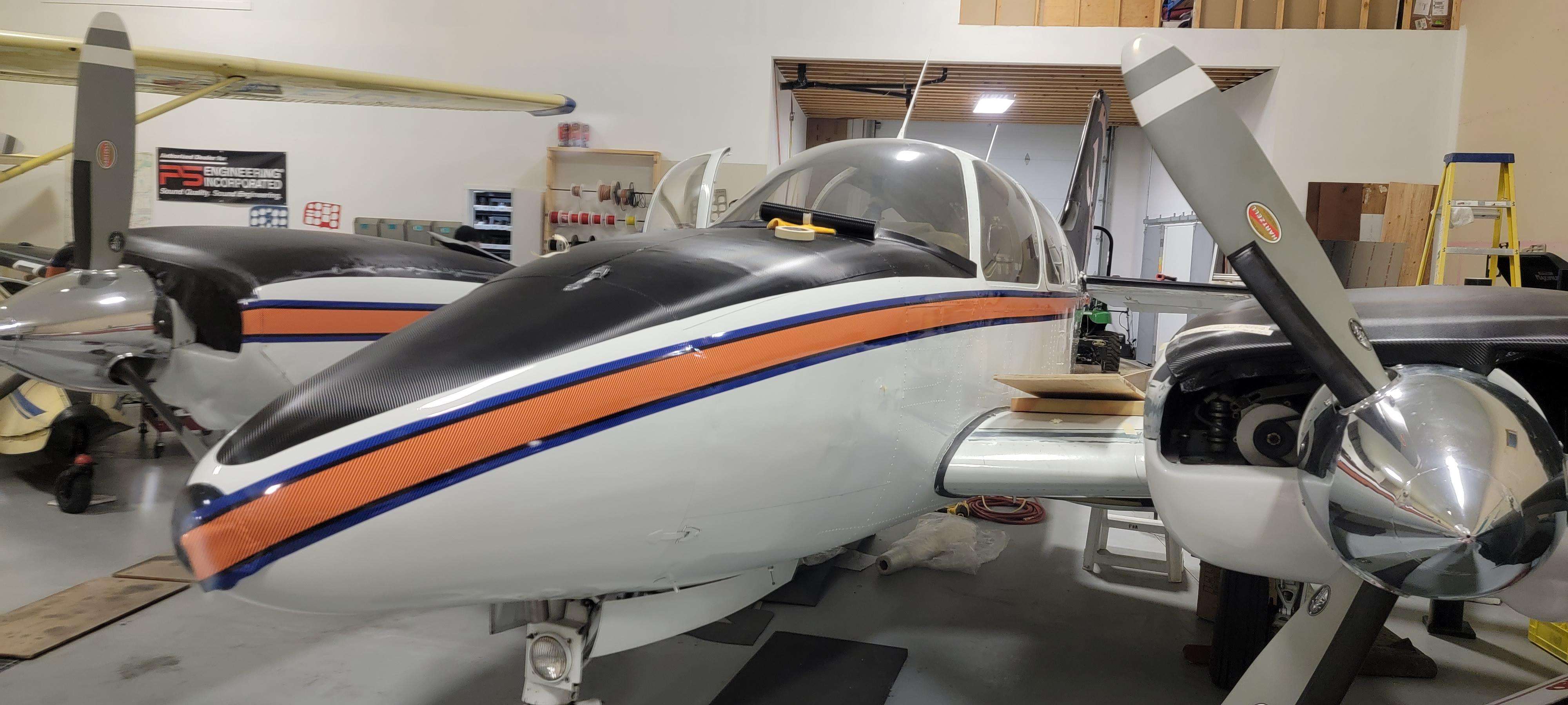 Carbon Fiber Plane