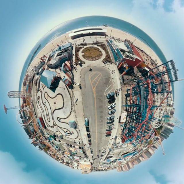 Riding on the #tinyplanet of #nyc