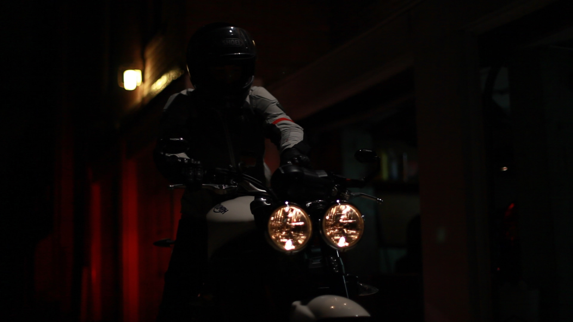 Motorcycle half lights