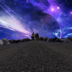 A #gopro pic taken during the day turned #interstellar with _jezkalim #photoshop #aftereffects #seve