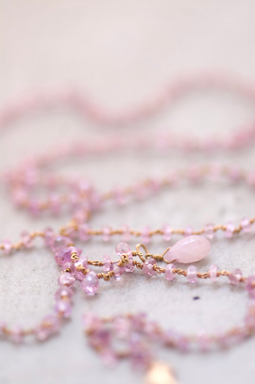 NECKLACE PINK OPHELIA