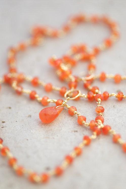 Necklace Adele Carnelian