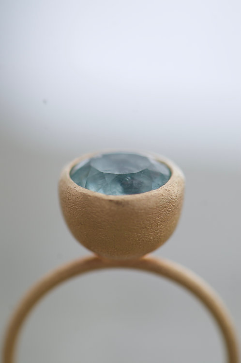Ring Soft Blue Tourmaline