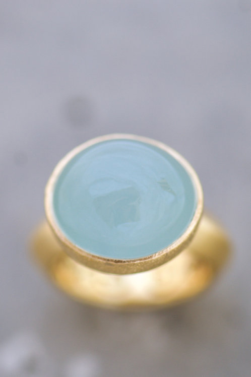 Ring Soft Aquamarine