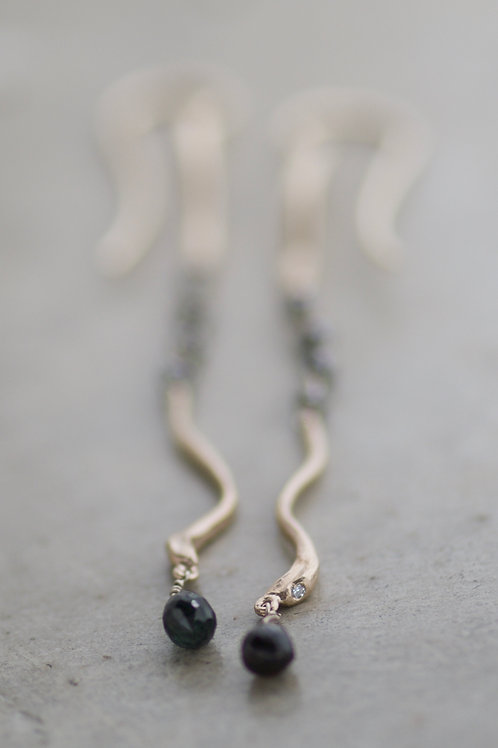 Earrings Serpentelli Allegri