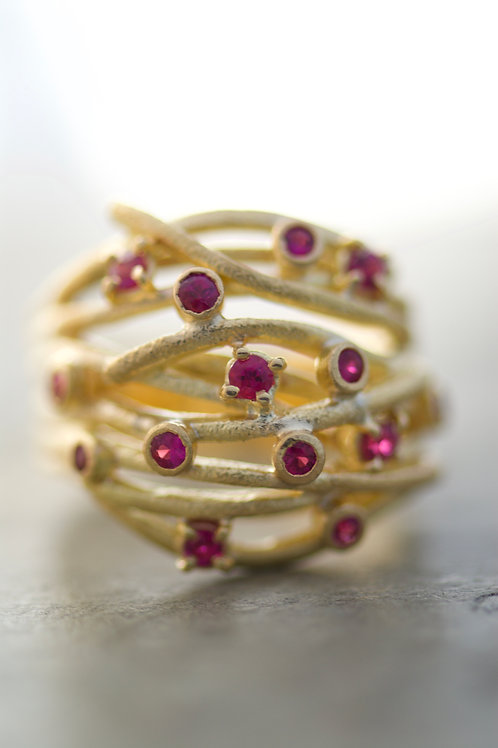 Ring Cristy Red
