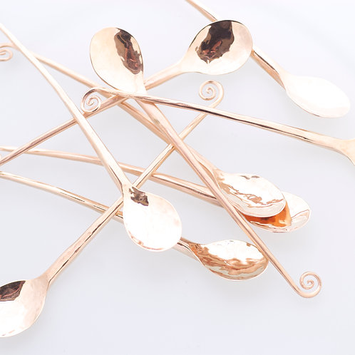 ROSEGOLD PLATED SPOONS FOR YOUR LOVECUP