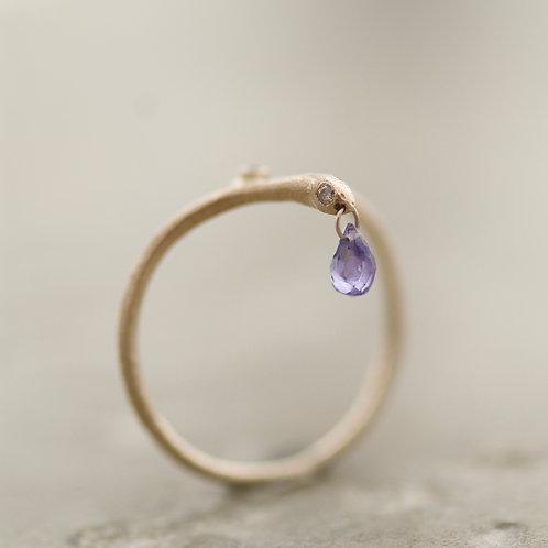 Ring Serpentello Drop