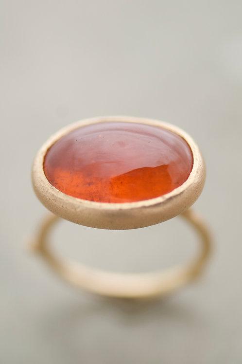 Ring Soft mandarine Garnet