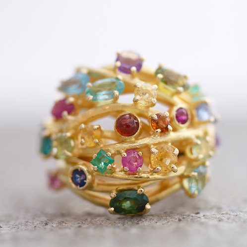 Ring Cristy Multicolor