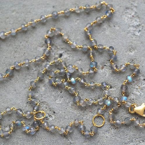 Necklace Adele Labradorite