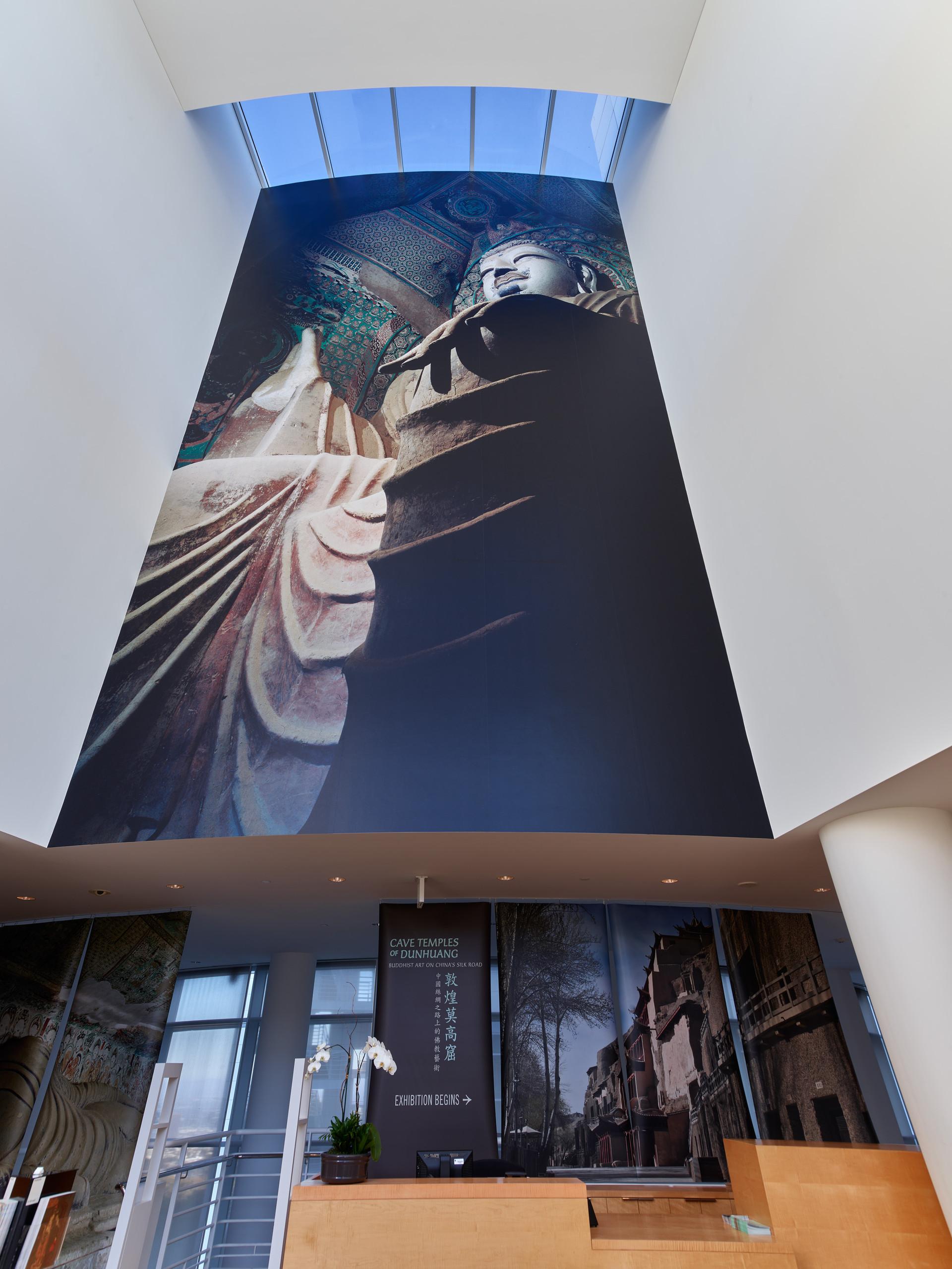 Buddha mural from the GRI lobby.