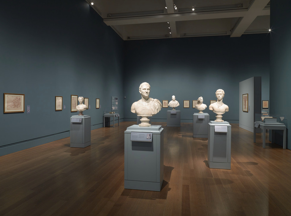 Exhibition presented the relationship between Bouchardon's sculpture and drawing.