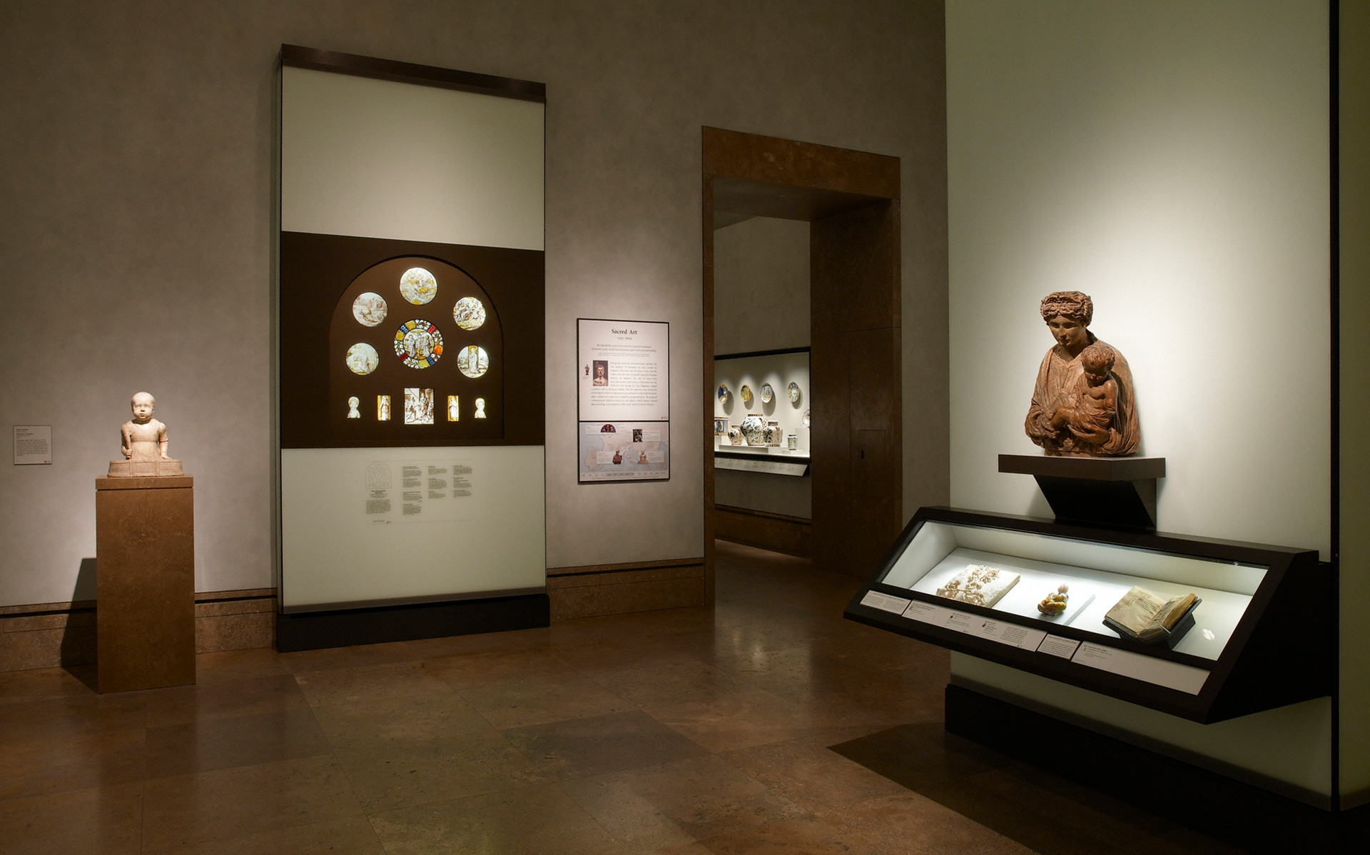 Getty stained glass collection on display for the first time.