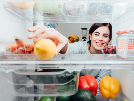 Declutter Your Fridge and Stop Wasting Food. Bonus 2-Week Grocery List - Just in Case!