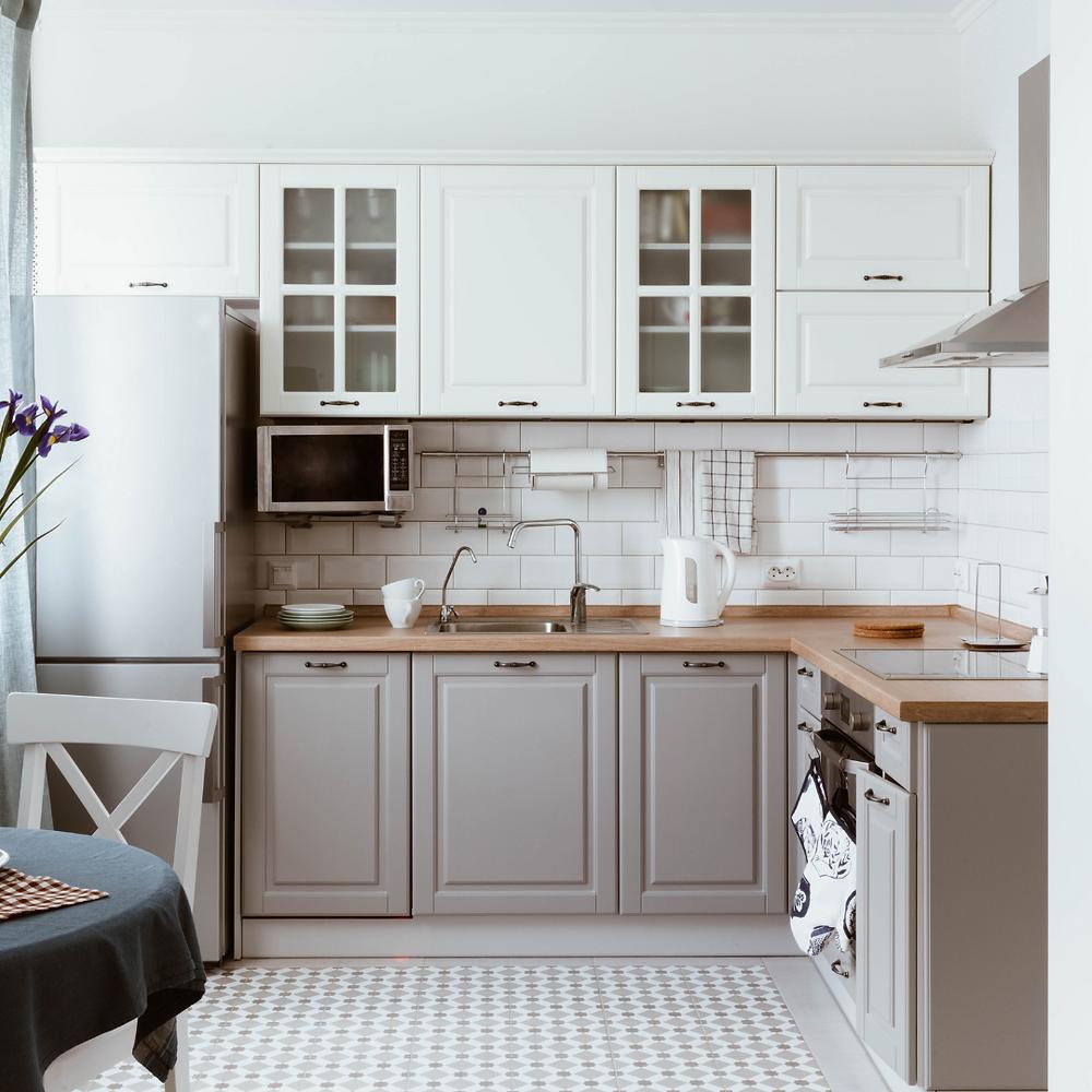Clean Sleek Modern Kitchen