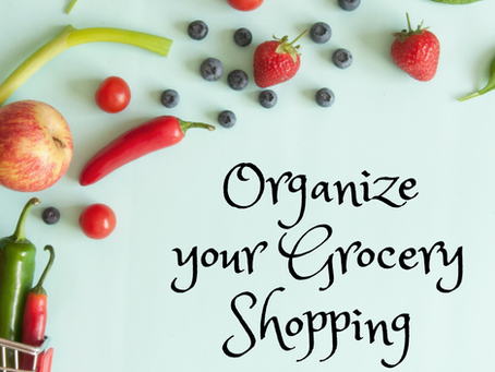 10 On-Target Tips to Organize your Grocery Shopping!