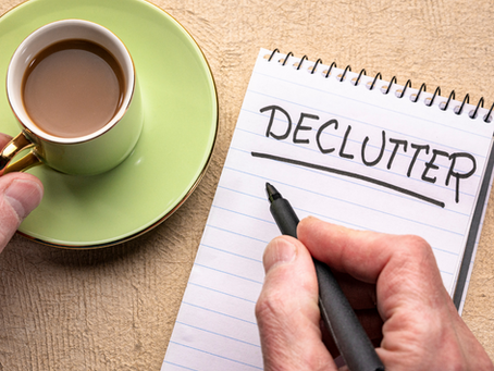 Clear Clutter before You Clean: Spring Declutter Tips!