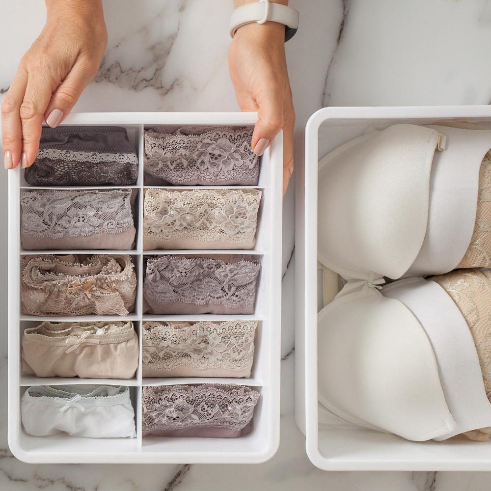 Organized Panties and Bras