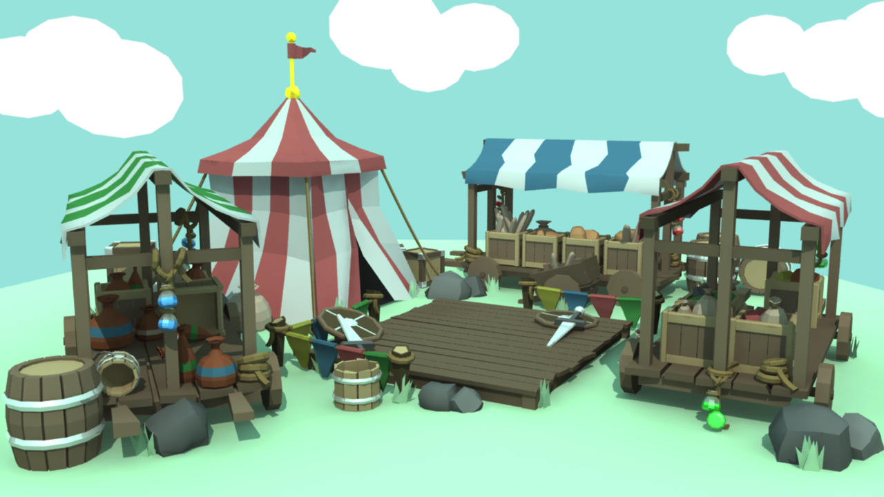 Week 1: Medieval Market and Arena