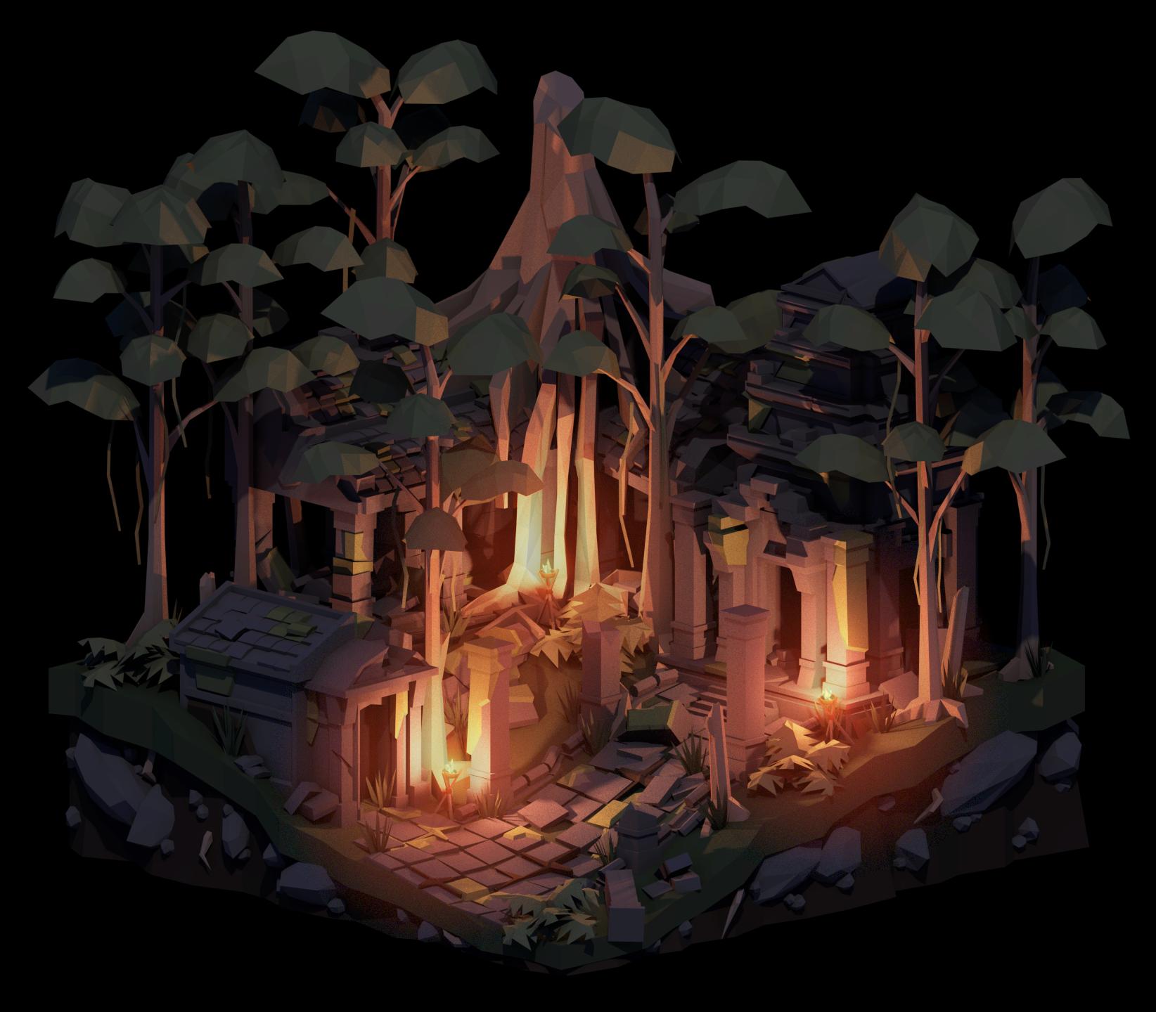 Week 13 - Jungle Temple