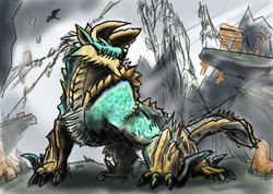 Zinogre from Monster Hunter