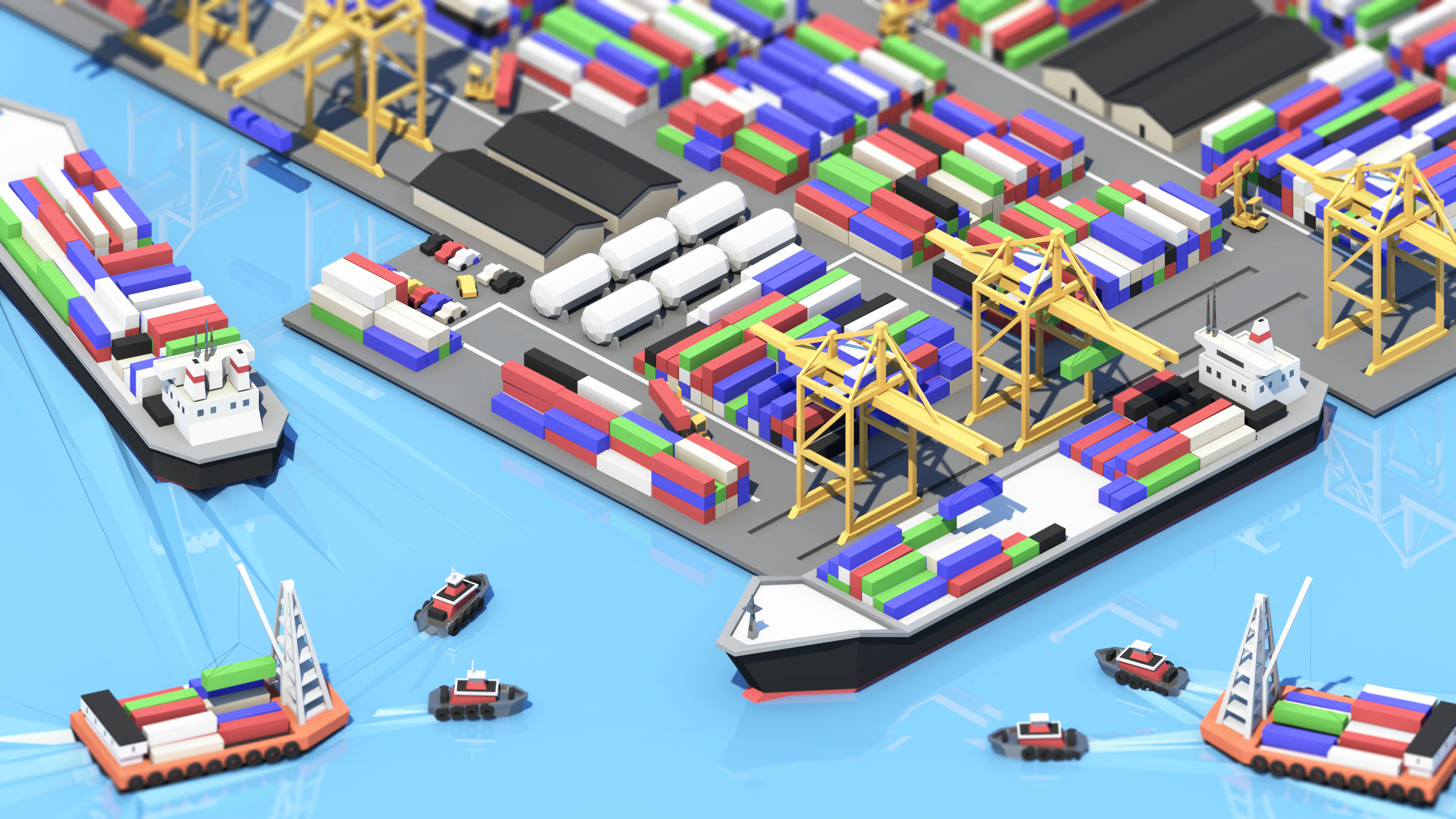 Week 18 - Container Terminal