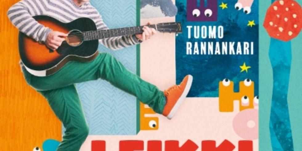 Loiskis ja Tuomo Rannankari Helsingissä Vuotalolla