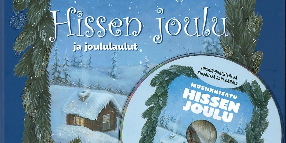 Loiskis & Sari Kanala Hissen joulu-tarinakonsertti youtubessa 13.-27.12.